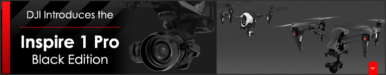 DJI Introduces the Inspire 1 Pro Black Edition!!